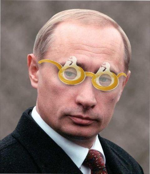 Фотожаба на Путина 1