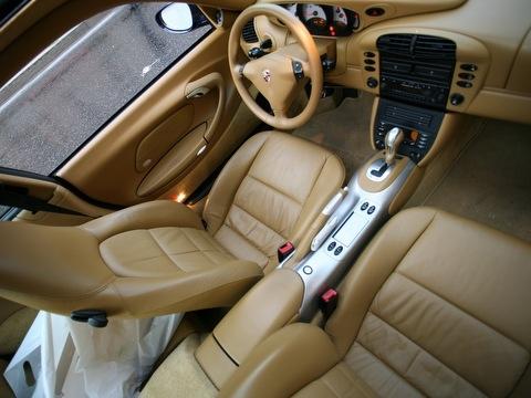 Porsche 911 (996) салон