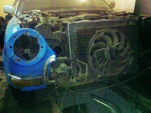 Тюнинг ГАЗ 21 радиатор