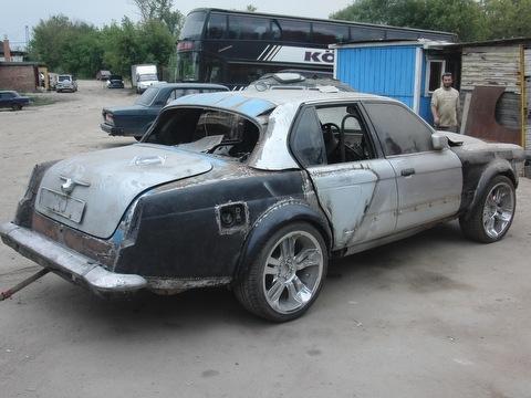 Тюнинг ГАЗ 21 перед покраской