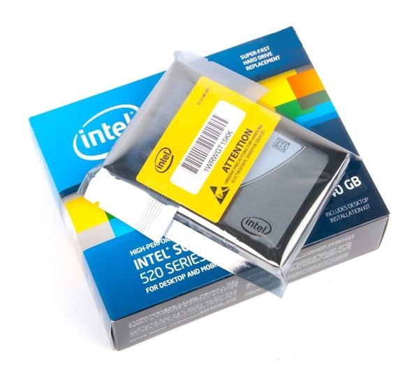 Intel SSD 520 фото