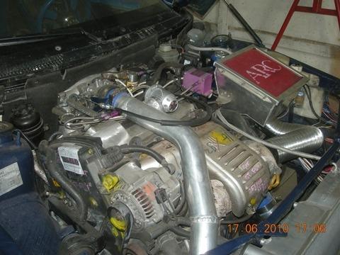 Тюниг ВАЗ 2110 двигатель