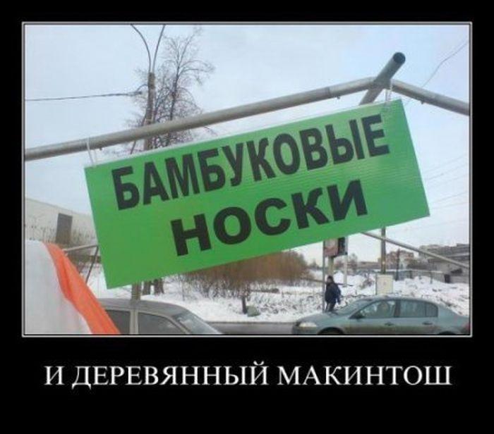 Новые демотиваторы 2012
