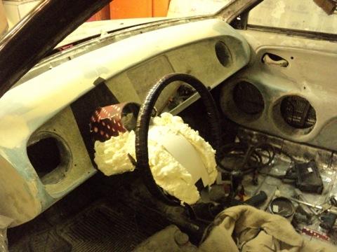 Тюнинг ВАЗ 2109 самодельный руль 2