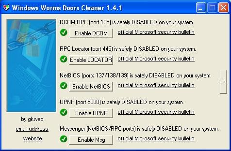 Как закрыть порты в Windows
