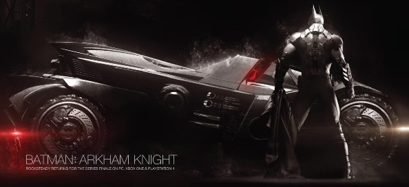 Бэтмобиль в Batman Arkham Knight