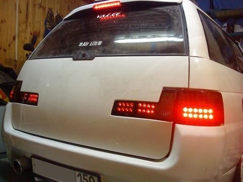 Тюнинг ВАЗ 2111 фонари задние