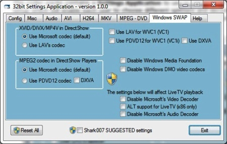 Новые кодеки Windows 8 скачать