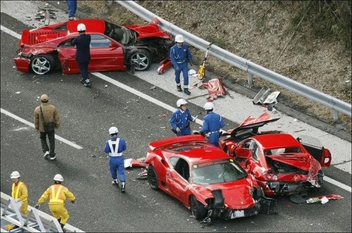 Самая дорогостоящая дорожная авария в истории