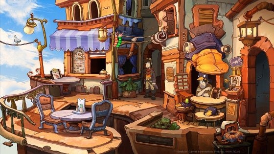 Chaos on deponia русификатор