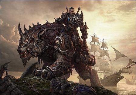 Играем в РПГ про драконов магов и воинов