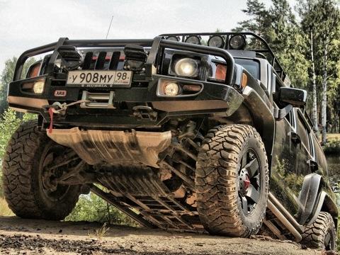 тюнинг Hummer H3